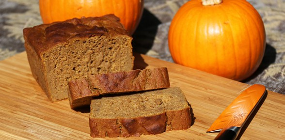 Vegan-licious Pumpkin Bread