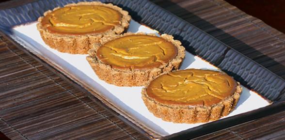 Sandy's Vegan Gluten-free Pumpkin Tartlets